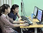 USAID Visits IT Training Program for People with Disabilities at Dong A University (9319788088).jpg