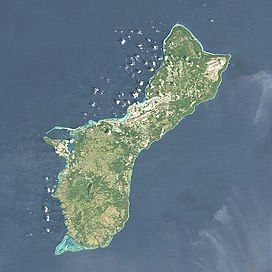 Mount Lamlam is located in Guam