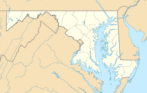 USA Maryland location map.svg