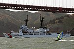 USCGC Morgenthau (WHEC-722) golden gate, California.JPG