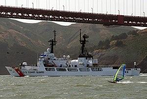 USCGC Morgenthau (WHEC-722) golden gate, California