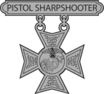 USMC Pistol Sharpshooter badge.png