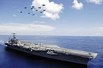 USS Abraham Lincoln (CVN-72) underway in the South China Sea on 8 May 2006 (060508-N-4166B-030).jpg
