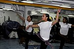 USS Carl Vinson sailors dance during Black Histoy Month celebration 120224-N-UT411-255.jpg