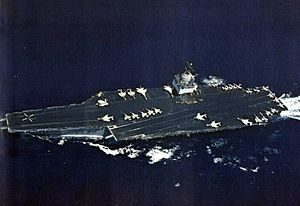 1969 EC-121 shootdown incident - Image: USS Enterprise (CVAN 65) underway c 1966