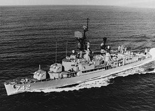 USS <i>Frank Knox</i> (DD-742) Gearing-class destroyer