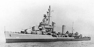 USS <i>Hambleton</i> (DD-455) destroyer of the United States Navy