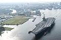 USS Harry S. Truman (CVN-75) leaves Norfolk Naval Shipyard on 21 July 2017.JPG