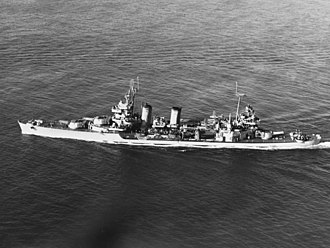 Most decorated US ships of World War II - USS Minneapolis