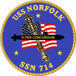 USS Norfolk SSN-714 Crest.png