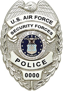 Department of the Air Force Police Civilian uniformed police service of the United States Air Force