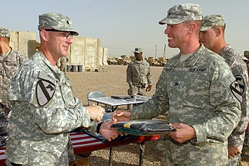 US Army 52423 CAMP TAJI, Iraq - Lt. Col. Eric ...