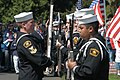 US Navy 030526-N-6477M-014 Naval Sea Cadet Corps Petty Officer 2nd Class Kelly Bennett, assigned to the Naval Station Everett, Wash. division, inspects.jpg