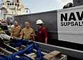 US Navy 100504-N-8273J-102 Chief of Naval Operations (CNO) Adm. Gary Roughead and Vice Adm. Kevin M. McCoy visit Gulfport Commercial Port.jpg