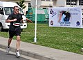 US Navy 100605-N-6692A-003 Lt. Karl Roystun participates in the Clear Vision 5-kilometer run.jpg