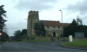 English: St.Michael's Church, Ufton, Warwickshire