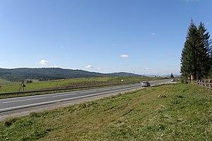 Highway M06 (Ukraine) - Image: Ukraine M06 Karpaten