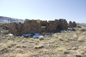 Home of Truth, Utah - Unfinished chapel at the Middle Portal