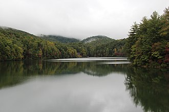 Unicoi State Park - Lake Unicoi in Unicoi State Park