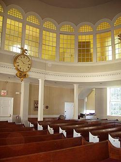 Unitarian Meeting House (interior) Bedford, Massachusetts