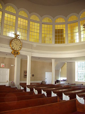 Bedford, Massachusetts - Interior, Unitarian Church