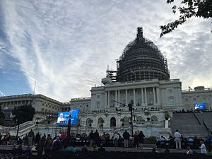 114th United States Congress - Image: United States Capitol in Morning