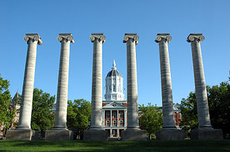 Jesse Hall on the University of Missouri campus University of Missouri - Jesse Hall.jpg