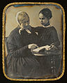 Unknown maker, French - Woman Reading to a Girl - Google Art Project.jpg