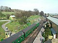 Unusual view of Ropley station - geograph.org.uk - 1549163.jpg