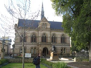 University of Adelaide - Mitchell Building from front, 2008.