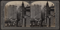 Up Broadway from Bowling Green, New York, N. Y., U. S. A., by Keystone View Company.png