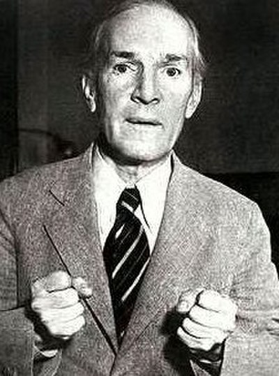 Picture of an author: Upton Sinclair