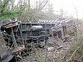 Upturned train - geograph.org.uk - 1095241.jpg