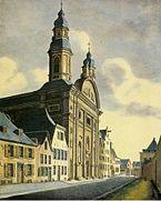 Ursulinenkirche Köln, ca. 1827.jpg