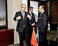 Välisminister Urmas Paet kohtus täna Türgi Euroopa Liidu asjade ministri ja pealäbirääkija Egemen Bağışega. (11.11.2011) (6333674641).jpg
