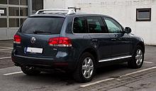 VW Touareg V10 TDI (I) – Heckansicht, 15. April 2012, Mettmann.jpg