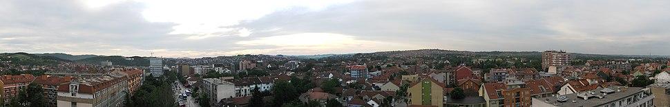 Valjevo panorama