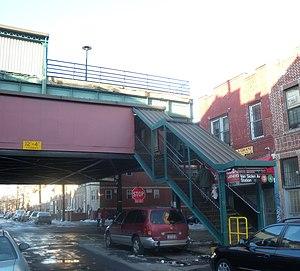 Van Siclen Avenue (IRT New Lots Line) - Image: Van Siclen Av IRT sta jeh