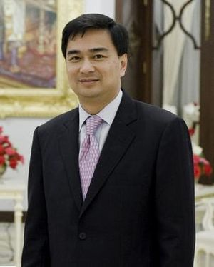 2010 Thai political protests - Prime Minister Abhisit Vejjajiva, assumed office in December 2008