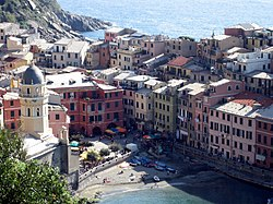 Vista de Vernazza