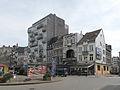 Verviers, verkeersplein met monumentale panden foto2.JPG