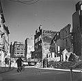 Verwoestingen in de binnenstad van Groningen op de achtergrond het Victoria Hot, Bestanddeelnr 900-2661.jpg