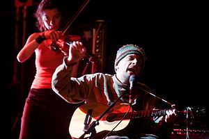 Vic Chesnutt - Chesnutt performing live with Jessica Moss from A Silver Mount Zion in 2008