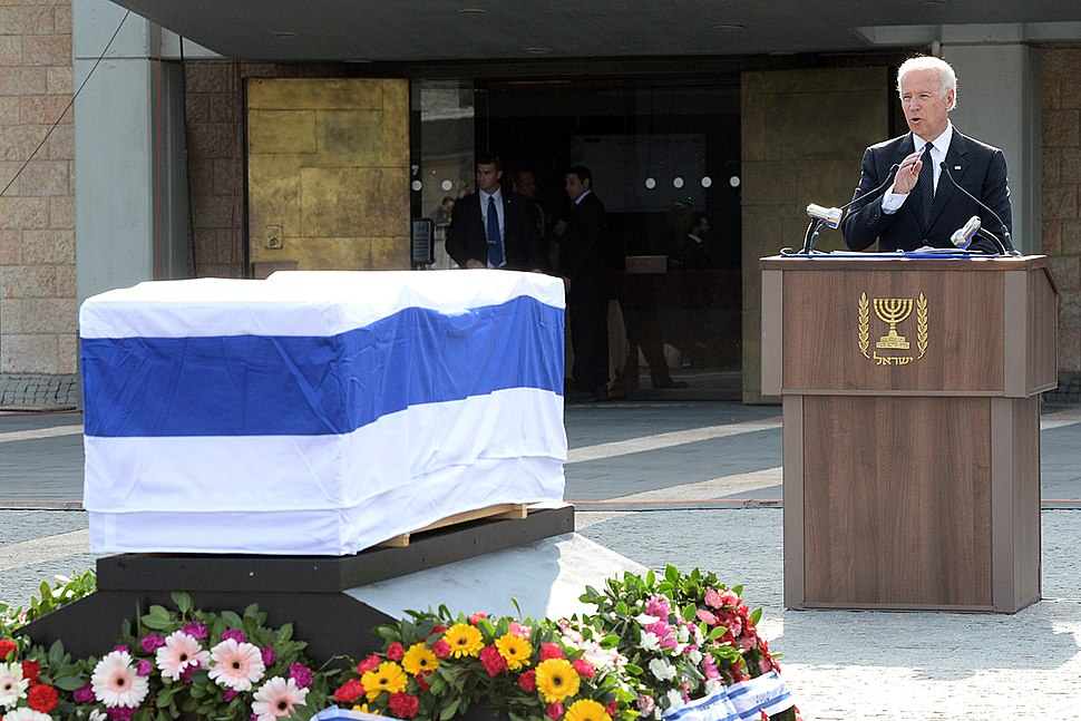 Vice President Biden Delivers Remarks at the State Funeral of Former Israeli Prime Minister Sharon (11935970124)