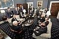 Vice President Pence meets with the Coronavirus Taskforce (49596569067).jpg