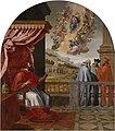 """Vicente Carducho. """"Visión del papa Víctor III"""" (1626-1632), Cartuja del Paular-Museo del Prado.jpg"""