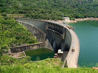 Victoria Dam (Sri Lanka) Dam in Teldeniya