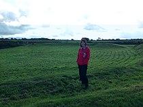View across Castell Bryn Gwyn 11102009.JPG