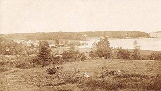 Brooklin, Maine - Center Harbor in 1909