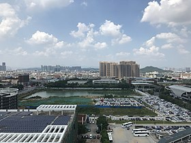 View near headquarters of BYD Company.jpg